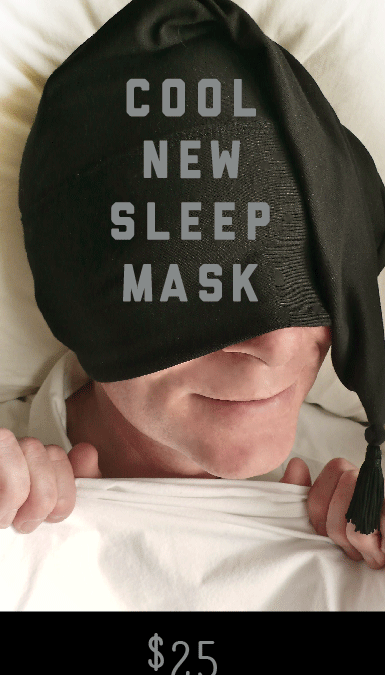 Nite Hood Cool New Sleep Mask