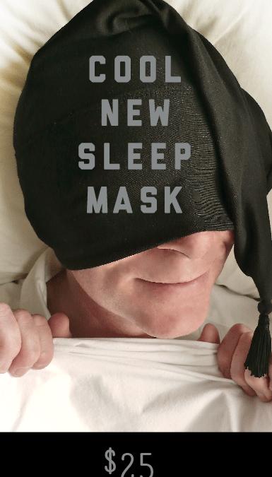 Nite Hood Cool New Sleep Mask